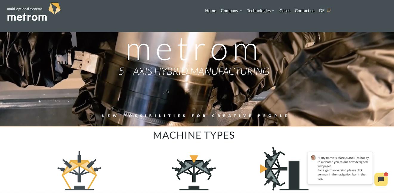Metrom Kundenprojekt 2