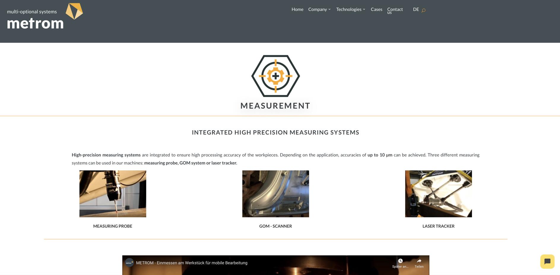Metrom Kundenprojekt 3